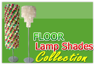 Jumbo Pacific Inc., Capiz shell from Raw shell of Natural Component to elegant capiz floor lamp shades.